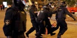 Meer dan 250 arrestaties tijdens protest tegen Loekasjenko