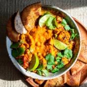 Zoete-aardappel-kokoscurry