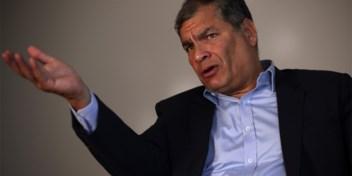Ecuador wil 'red notice' van Interpol voor in België wonende oud-president Correa
