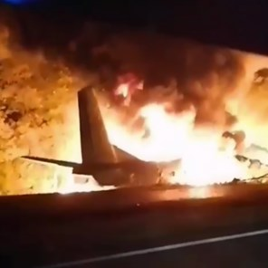 20 doden bij crash Oekraïens militair vliegtuig
