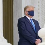 Stilte heerst tijdens eerbetoon Ruth Bader Ginsburg, tot Trump verschijnt