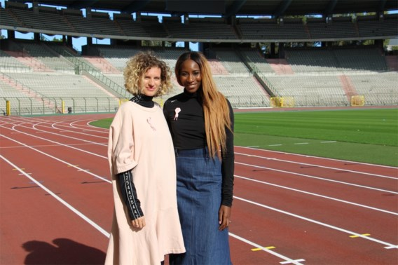 Ouédraogo en Borlée ontwerpen nieuw Pink Ribbon-lintje