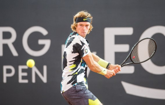 Andrey Rublev en Stefanos Tsitsipas zijn finalisten in ATP-toernooi Hamburg