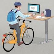 Voordelig naar het werk fietsen