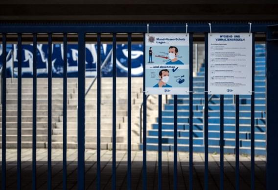 Schalke 04 - Werder Bremen achter gesloten deuren