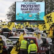 Grote opkomst bij actie Vlaams Belang aan Heizel