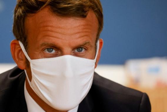 Europees Parlement vergadert in Brussel, fel tegen de zin van Macron