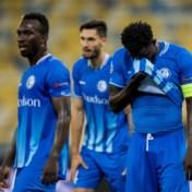 Zwak AA Gent kan zich niet plaatsen voor Champions League