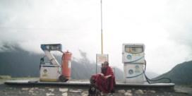 Monniken met een smartphone