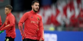 Bondscoach roept Eden Hazard op, maar blessure houdt hem aan de kant