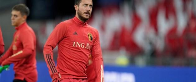 Bondscoach Martinez roept Eden Hazard toch op, vijf nieuwkomers in de selectie