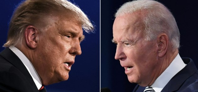 Bekijk hier meest opvallende momenten uit eerste debat Trump en Biden