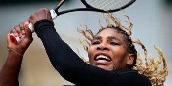 Serena Williams geeft er de brui aan op Roland Garros