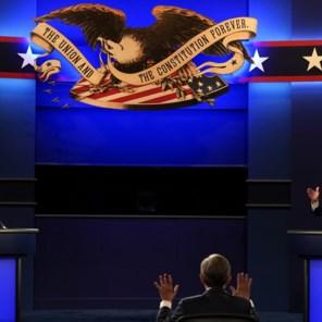 'De schande van Cleveland': debat tussen Trump en Biden verzandt in chaotische scheldpartij