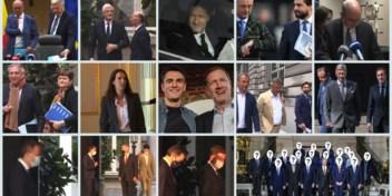 Dertiende keer goede keer: deze stoet politici leidde tot De Croo-I