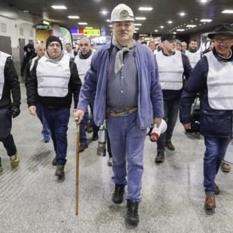 December 2019: mijnwerkers vragen dat hun pensioen wordt herbekeken.