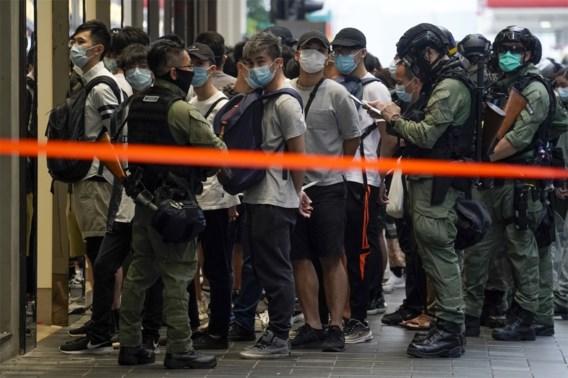 Zeker 60 arrestaties in Hongkong na illegale demonstratie