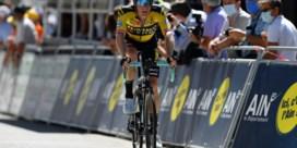 Giro mist bladgroen in schaduw van Tour