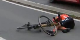 Greg Van Avermaet naar ziekenhuis na zware val in Luik-Bastenaken-Luik