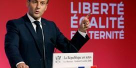 Macron maakt einde aan 'vrij spel voor islamistisch separatisme'