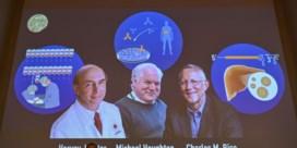 Nobelprijs geneeskunde voor virusjagers
