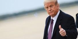 Donald Trump zegt dat hij ziekenhuis mag verlaten