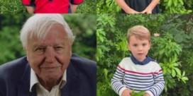 Kinderen van prins William aan Attenborough: 'Vind jij spinnen leuk'?
