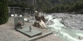 Lichamen op Franse kerkhoven meegesleurd door overstromingen