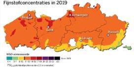 Vlaanderen kreunt onder fijn stof, behalve Haspengouw en Maasland