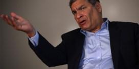 Ecuador wil in België wonende ex-president laten oppakken