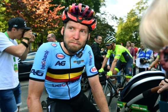 Jan Bakelants heeft corona en komt dit jaar niet meer in actie