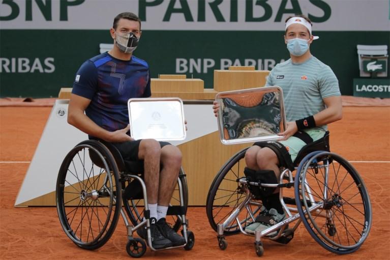 Rolstoeltennisser Joachim Gérard verliest finale op Roland Garros na spannende driesetter