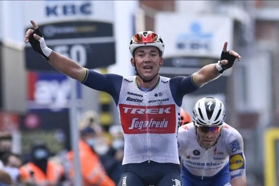 Mads Pedersen wint Gent-Wevelgem