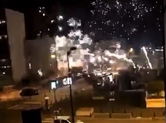 Politiekantoor in buitenwijk Parijs aangevallen
