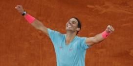 Nadal toont zich te sterk voor Djokovic en wint voor dertiende keer Roland Garros