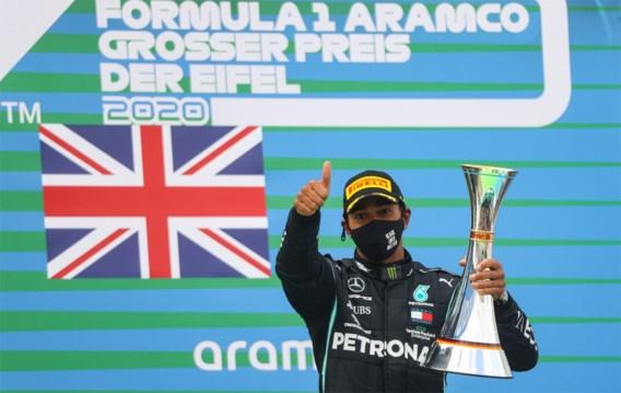 Lewis Hamilton evenaart met 91ste F1-zege record Michael Schumacher