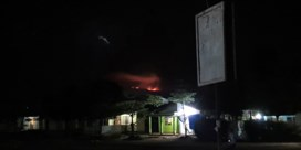 De Kilimanjaro staat in brand