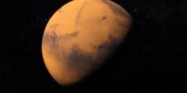 Planeet Mars is vannacht op haar helderst