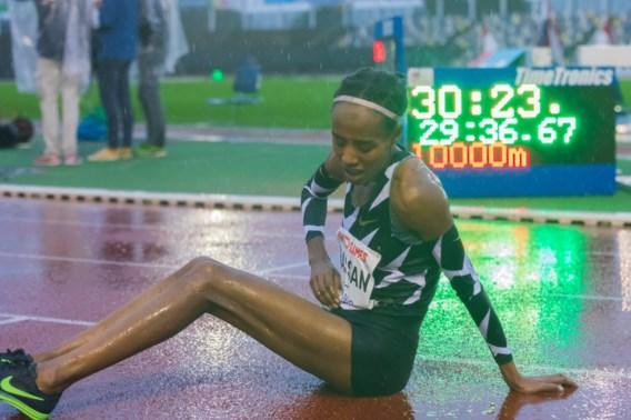 Nederlandse Sifan Hassan verbetert Europees record op 10.000 meter