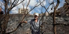 Tienduizenden Syriërs op de vlucht voor bosbranden