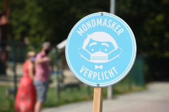 Half miljoen mondmaskers ligt al maanden in loods omdat 11 stickers ontbreken