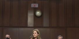 'Aanklager' Harris houdt tijdens ondervraging Barrett vurig pleidooi voor Obamacare