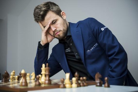 Wereldkampioen schaken Magnus Carlsen ziet recordreeks na 125 partijen eindigen