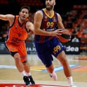 Sam Van Rossom en Valencia verliezen van Barcelona in Euro League basket