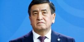 President van Kirgizië stapt op na protesten