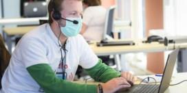 Contacttracers verzuipen: risicocontacten krijgen sms