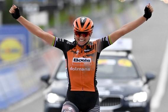 Chantal Van den Broek Blaak wint Ronde van Vlaanderen, Kopecky derde