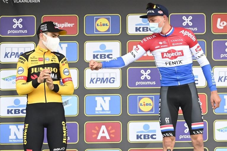 Mathieu van der Poel sprakeloos na zege, Van Aert groots in verlies