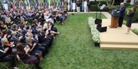 Hoe een coronagolf de entourage van Donald Trump overspoelde