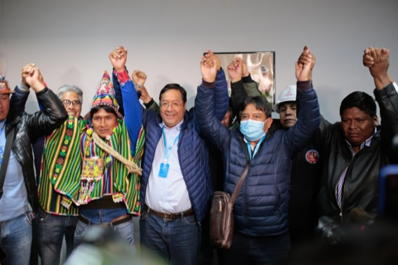 Arce wint Boliviaanse presidentsverkiezingen
